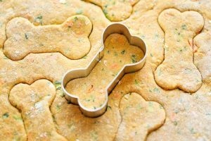 Carrot, Zucchini and Spinach Dog Treat