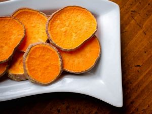 Sweet Potato Chips for Doggies